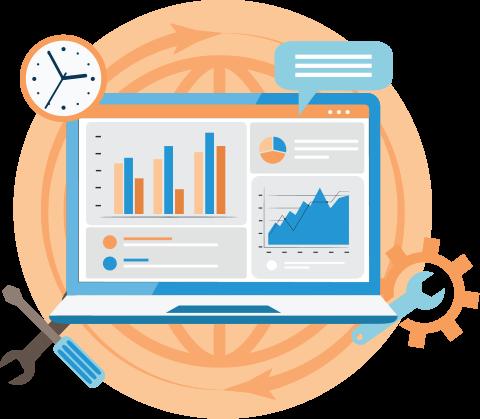 Employee monitoring for user status