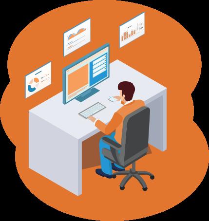 Monitor workforce productivity and bridge inefficiencies