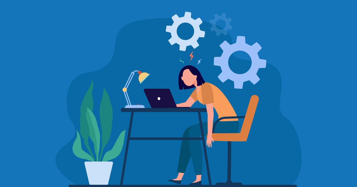 Managing employee burnout